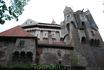 Поросшая мхом средневековая Чехия представлена замком Перштейн
