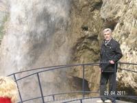 Медовые водопады; &quotБольшой медовый водопад&quot - высота 18 м; по тюркски он называется&quotУлу эчки баш&quot. что можно перевести как &quot Большая козья борода&quot