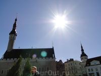 Здание таллиннской Ратуши – наиболее сохранившееся здание средневековой Ратуши в Северной Европе.