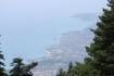 вид с горы Энос- природный заповедник