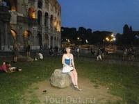 Ночь у Колизея.