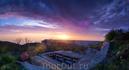"Панорама заката на ""Сотке"" - ракетная база на Аскети"