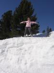 это 2009 год. вот сколько снега)
