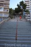 одна из нескольких лестниц, по которым бегали ежедневно
