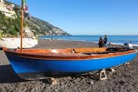 На пляже Позитано