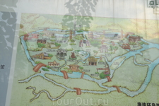 Район Zhujiang New Town    Карта туристического района.Находится у телебашни,где остановка туристического автобуса
