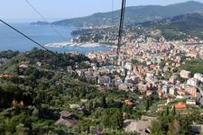 Вид на Портофино и Рапалло