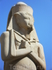 Статуя Рамзеса.