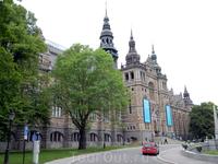 Стокгольм. Музей севера.