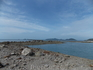 один из диких пляжей в нашем путешествии на байке