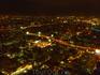 Вид на ночной Бангкок  с отеля Байок Скай