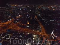 вид Дубая с башни Бурдж-Халифа 2