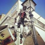Классный уличный арт-объект в Ретимно