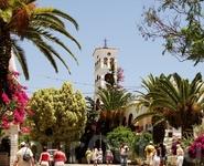 Монастырь Панагиа Каливиани. Это место можно охарактеризовать одним словом: рай.