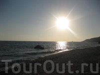 Пафос. Закат солнца