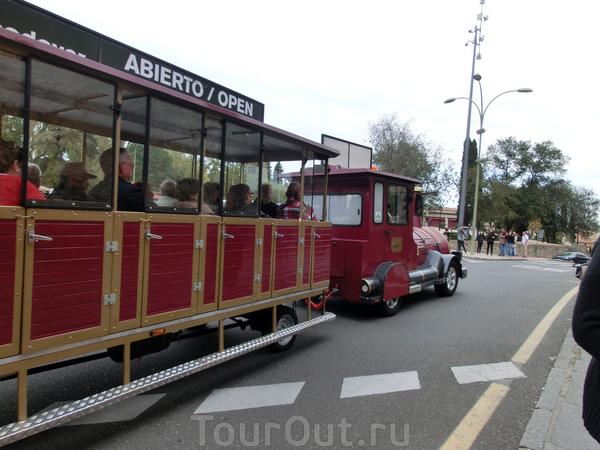 Те, кто не желает прогуливаться по городу пешком, могут воспользоваться туристическим поездом. Маршрут и цену не узнавали.