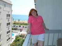 Вид с балкона на Саронический залив, отель Palace Hotel