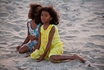 местные жители очень любят купаться, особенно дети отдых на пляже