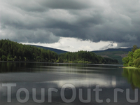 Вот то, ради чего стоит ехать в Шотландию. Озеро Лох-Ломонд.