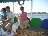 с восточного берега Нила на западный