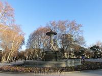Вечер последнего дня моего путешествия я решила провести традиционно посетив парк Ретиро.  Фонтан Галапагосс.