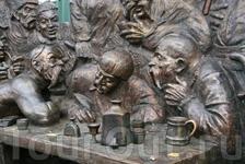 Памятник «Запорожцы пишут письмо турецкому султану»