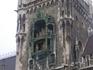 Мариенплатц. Новая ратуша.Часовая башня
