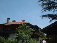 Чайка над крышами