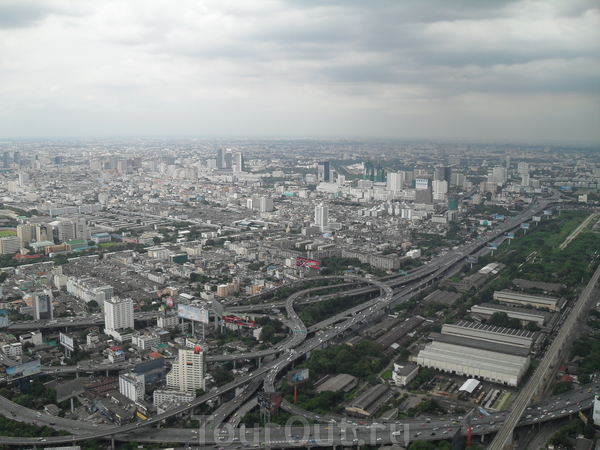 Бангкок, 84 этаж смотровая площадка небоскреба Байок Скай