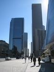 Ну, конечно, небоскребы, как же без них. Деловой центр Лос-Анджелеса.