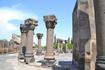 звартноц Это был трехъярусный круглый храм высотой 49 метров, состоящий из трех поставленных друг на друга уменьшающихся цилиндров, увенчанных сферическим ...