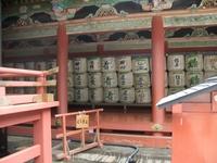 Бочки с жертвенным саке