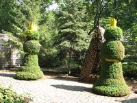Например, в Стуковском парке проводился фестиваль ландшафтного дизайнера, где молодые и не очень дизайнеры воплощали в жизнь свои наработки