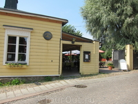 Один из типичных домов в Порвоо