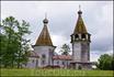 Деревянные церкви в соседнем селе. Храм Богоявления 1787г.
