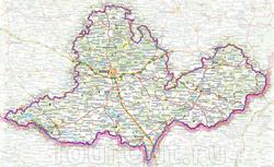 Карта Моравии