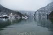Длина королевского озера-7.7 км. Глубина-185 м.