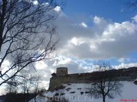 Крепость под облаками