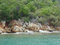 Изумрудное Эгейское море