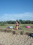 я на пляже в Голубицкой