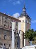 В 1936 году в Алькасаре засели сторонники Франко и 72 дня республиканцы пытались их оттуда выгнать. За время осады от крепости остались практически руины ...
