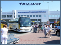 А вот и Таллинн! :)