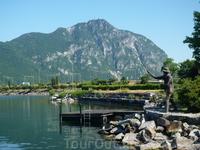 Швейцария, Лугано озеро Лаго ди Лугано