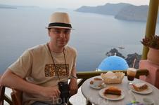 Греческий кофе с видом на красоту :)