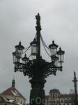 Один из двух сохранившихся газовых фонарей