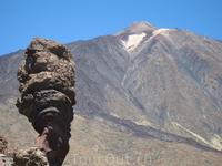Тейде, высота 3718 метров Самая высокая точка в Испании