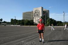 На фоне ЧЕ... в Гаване