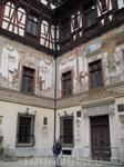 Замок Пелеш, внутренний двор