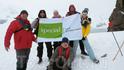 Русская группа в Антарктиде