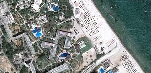 Отель на карте гугла.